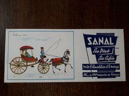 L18/179 Buvard. Magasins Sanal. Lorraine - Buvards, Protège-cahiers Illustrés