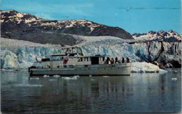 Alaska Glacier Bay Cruise Boat From Glacier Bay Lodge 1970 - Juneau