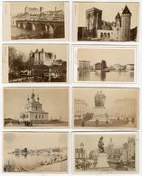 Lot De 70 Cdv Albuminés Divers Villes Région Pays Vers 1860/90 - Old (before 1900)