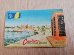 GRENADA  $ 20,- GPT GRE-6B  CARENAGE ST GEORGES    MAGNETIC    Fine Used Card    **2237** - Grenada
