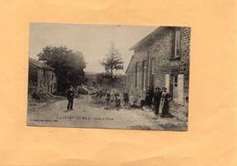 """G0906 - OCHES - D08 - La Rue De L'Eglise Et L""""Ecole - Autres Communes"""