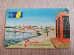 GRENADA  $ 20,- GPT GRE-8B  CARENAGE ST GEORGES       MAGNETIC    Fine Used Card    **2241** - Grenada