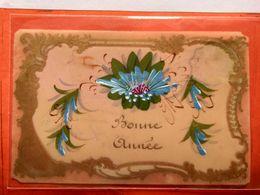 CPA.  En Celuloïde .Bonne Année 1906 (D1.800) - Fancy Cards