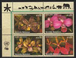 Nations Unies (Vienne) - N°446/9 ** (2005) Protection De La Nature : Orchidées - Ongebruikt