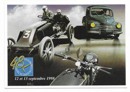 CPM Troyes 48 Heures D'automobiles Anciennes De Troyes 1998 4 CV Moto Gros Plan Tirage 913/1000 - Unclassified