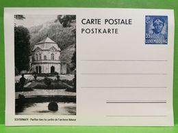Carte Postale, Echternach, Pavillon Dans Les Jardins De L'ancienne Abbaye . 35c - Interi Postali
