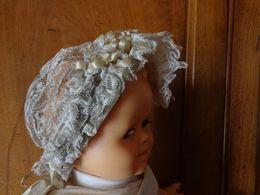 Lot De Coiffe Bebe Et Dame Pour Modele Ou Restauration + Autre - Vintage Clothes & Linen
