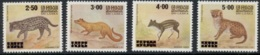 Sri Lanka, 1981, Animals, Fauna, MNH, Michel 542-545 - Sri Lanka (Ceylon) (1948-...)