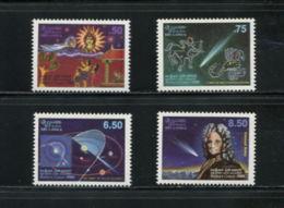 Sri Lanka, 1986, Halley's Comet, Space, Astronomy, MNH, Michel 732-735 - Sri Lanka (Ceylon) (1948-...)