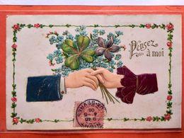 CPA. Gaufrée.Pensez à Moi.  (D1.829) - Fancy Cards