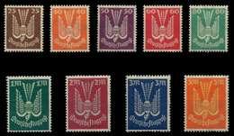 DEUTSCHES REICH 1922 INFLA Nr 210-218 Postfrisch X0640E2 - Deutschland