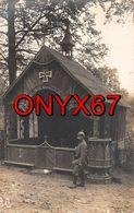 Carte Postale Photo Militaire Allemand Bois De FORGES Sur Meuse-55-Clermont-Argonne-Kapelle-Chapelle-Soldat-Guerre-14/18 - Otros Municipios