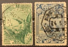 PORTUGUESE AFRICA - (O)   - 1898 - # 4, 5 - Afrique Portugaise