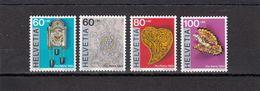 Suisse - Année 1994 - Neuf**  - Pro Patria - N°Zumstein 243/46**- Art Populaire En Suisse - Unused Stamps