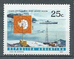 Argentine YT N°920 Station Et Bateau Libertad Antarctique Argentin Neuf ** - Ungebraucht