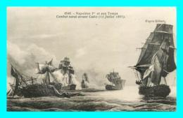 A849 / 363  Napoléon Ier Et Son Temps Combat Naval Devant CADIX ( Bateau ) - Bateaux