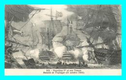 A849 / 389  Napoléon Ier Et Son Temps Bataille De Trafalgar ( Bateau ) - Bateaux