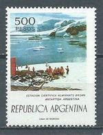 Argentine YT N°1076 Station Scientifique Amiral Brown Antarctique Argentin Neuf ** - Argentina