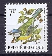 BELGIE * Buzin * Nr 2261 * Postfris Xx * HELDER WIT  PAPIER - 1985-.. Pájaros (Buzin)