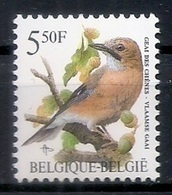 BELGIE * Buzin * Nr 2526 * Postfris Xx * HELDER WIT  PAPIER - 1985-.. Pájaros (Buzin)