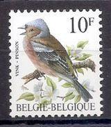 BELGIE * Buzin * Nr 2351 * Postfris Xx * HELDER WIT PAPIER - WITTE GOM - 1985-.. Pájaros (Buzin)