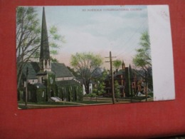 Congregational Church  Norwalk Connecticut >>  Ref 4139 - Norwalk