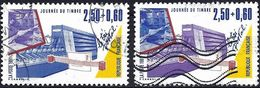 France 1991 - Mi 2826a/b - YT 2688/89  ( Stamp Day ) - Gebruikt