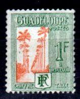 Guadeloupe J35, Postage Due, 1F, 1928, MNH, F - Nuevos