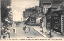 LOIRE ATLANTIQUE  44  LA BAULE - AVENUE DE LA GARE ( PARTIE COMPRISE ENTRE LA PLACE DE LA CHAPELLE ET LA PLAGE ) - La Baule-Escoublac