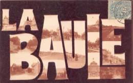 LOIRE ATLANTIQUE  44  LA BAULE - FANTAISIE GROSSES LETTRES - VUES MULTIPLES - La Baule-Escoublac