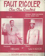 """Faut Rigoler Cha-cha Gaulois - Jacques Hélian Et Henri Salvador - Musica & Strumenti"