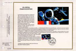 """"""" VOL SPATIAL FRANCO-SOVIETIQUE """" Sur Feuillet CEF De 1989. N° 2571 Parfait état FDC - Zonder Classificatie"""