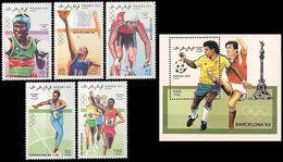 ** Sahara Occ. - 1990 - Olympic Games 1992 - Sommer 1992: Barcelone
