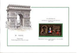 Général De Gaulle - Or 23 Carats - In Memoriam - Sonstige
