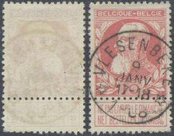 """Grosse Barbe - N°74 Obl Relais """"Vlesenbeke"""". TB / COBA : 15 - 1905 Grosse Barbe"""