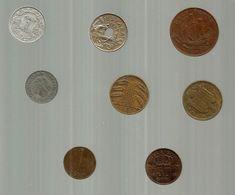Monnaie , Maroc, Belgique, Allemagne, Grande Bretagne, Espagne, Pays Bas , LOT DE 8 MONNAIES - Coins & Banknotes