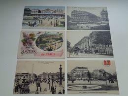 Lot De 60 Cartes Postales De France  Paris   Lot Van 60 Postkaarten Van Frankrijk  Parijs  - 60 Scans - Cartes Postales