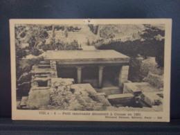 142 EUROPE . PETIT SANCTUAIRE DECOUVERT A CNOSSE EN 1931 - Grecia