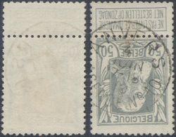 """Grosse Barbe - N°78 Obl Agence """"Anvers / Agence N°10"""". Belle Frappe / COBA : 30 - 1905 Grosse Barbe"""
