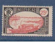 NIGER      N°  YVERT  :  36   NEUF AVEC CHARNIERES      ( CHARN  03/ 40 ) - Ungebraucht