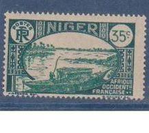NIGER      N°  YVERT  :  38 A      NEUF AVEC CHARNIERES      ( CHARN  03/ 40 ) - Niger (1921-1944)