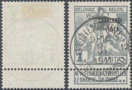 """Caritas - N°100 Obl Agence """"St.Gilles (Bruxelles) / St.Gillis (Brussel) 12"""". TB - 1910-1911 Caritas"""