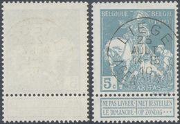 "Caritas - N°90 Obl Agence ""Liège / Agence N°4"" - 1910-1911 Caritas"