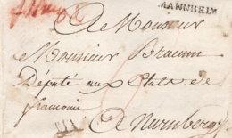 1800 MANNHEIM Bf M. Inhalt N. Nürnberg - Germany