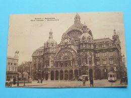 Gare Centrale - Middenstatie ( Detail > Tram 23 ) Anno 1934 ( Voir  Photo ) ! - Antwerpen