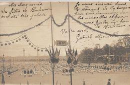 BORDEAUX - Carte Photo - Les Fêtes De Bordeaux 1905 - Bordeaux