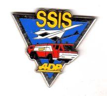 Pin's  Pompiers Concorde SSIS ADP  Zamac Arthus Bertrand - Arthus Bertrand