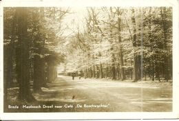 ( BREDA  )( PAYS BAS  ) MASTBOSCH DREFF NAAR CAFE . DE BOSCHWACHTER - Breda