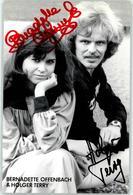 52980070 - Autogramm  Offenbach, Bernadette - Singers & Musicians