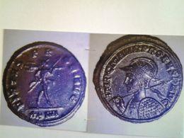 Antoninien Probus Tête A Gauche Rv/ Virtus Probi Aug Mars Nu Et Casque - 5. La Crisis Militar (235 / 284)